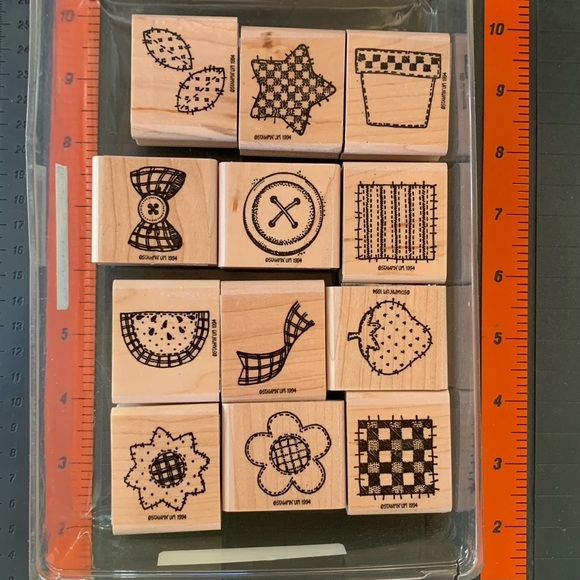 Stampin' Up! COUNTRY STITCHING